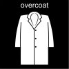 overcoat Pictogram