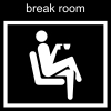 break room Pictogram