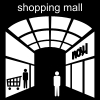 shopping mall Pictogram