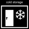 cold storage Pictogram