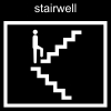 stairwell Pictogram