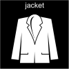 jacket Pictogram