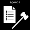 agenda Pictogram