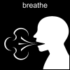 breathe Pictogram