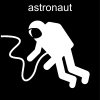 astronaut Pictogram