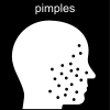 pimples Pictogram
