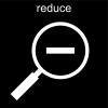 reduce Pictogram