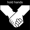 hold hands Pictogram