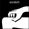 scratch Pictogram