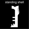 standing shell Pictogram