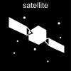 satellite Pictogram