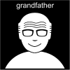 grandfather Pictogram