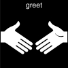 greet Pictogram