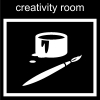 creativity room Pictogram