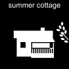 summer cottage Pictogram
