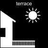 terrace Pictogram