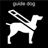 guide dog Pictogram