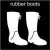 rubber boots Pictogram