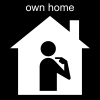 own home Pictogram
