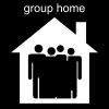 group home Pictogram