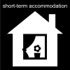 short-term accommodation Pictogram