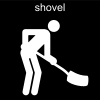 shovel Pictogram