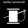 textile handicraft Pictogram