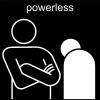powerless Pictogram