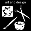 art and design Pictogram