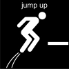 jump up Pictogram