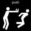 push Pictogram