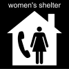 women's shelter Pictogram