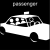 passenger Pictogram