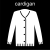 cardigan Pictogram