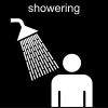 showering Pictogram
