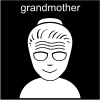 grandmother Pictogram