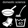 domestic science Pictogram