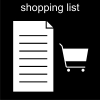 shopping list Pictogram