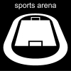 sports arena Pictogram