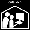 data tech Pictogram
