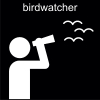 birdwatcher Pictogram
