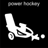 power hockey Pictogram