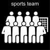 sports team Pictogram