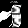 comb Pictogram