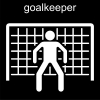 goalkeeper Pictogram