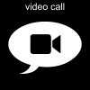 video call Pictogram