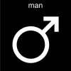 man Pictogram