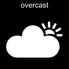 overcast Pictogram