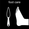 foot care Pictogram