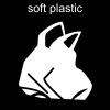 soft plastic Pictogram